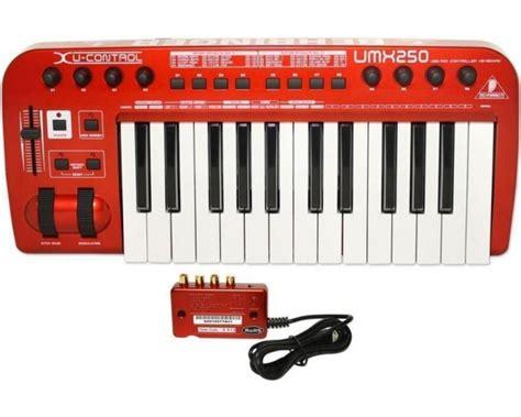 Midi Controller Behringer Umx 250 behringer umx250 u tastiera midi controller master