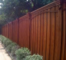 wood wrought iron fences