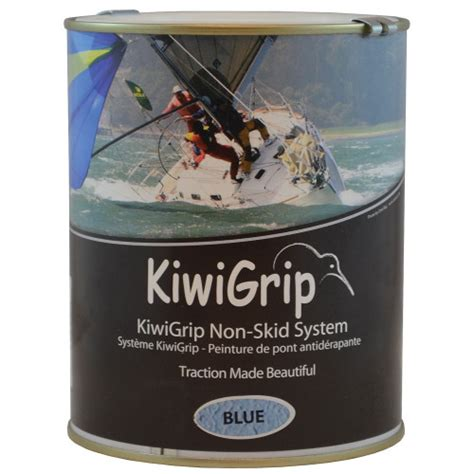 kiwigrip  skid paint blue  whitworths marine