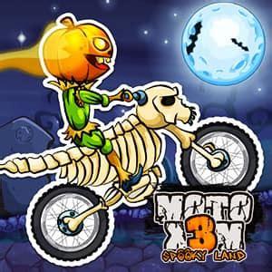 moto xm spooky land darmowa gra  funnygames