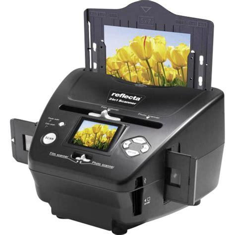 Display Accessories 3in1 Ac1002 slide scanner image scanner negative scanner reflecta 3in1 scanner 1800 dpi from conrad