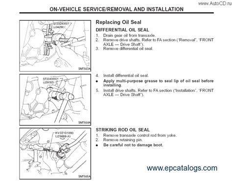manual repair free 2010 nissan murano spare parts catalogs nissan murano z50 04 2007 repair manual cars repair manuals