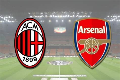 arsenal europa league table where can i stream ac milan v arsenal live europa league