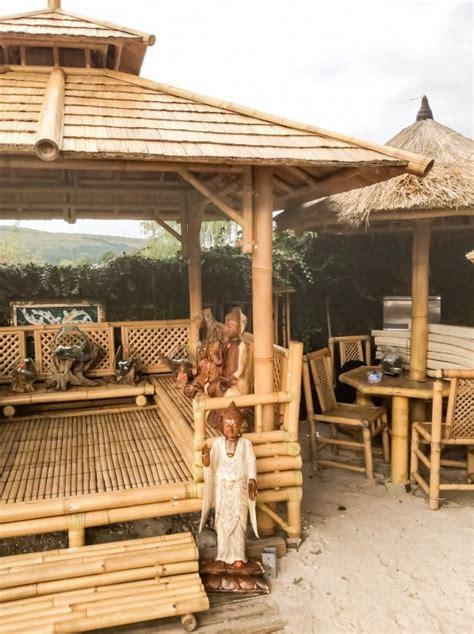 pavillon 3 x 2 50 pavillon bambus gazebo teich bamboo 2 50 m x 2 50 m