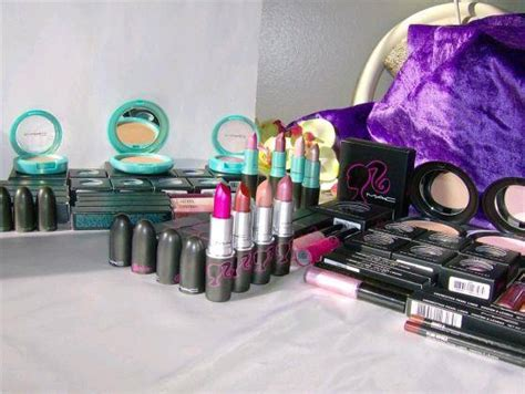 Mac Moonbathe Product by Mac Cosmetics 77 Pieces Almost Complete Collections Id