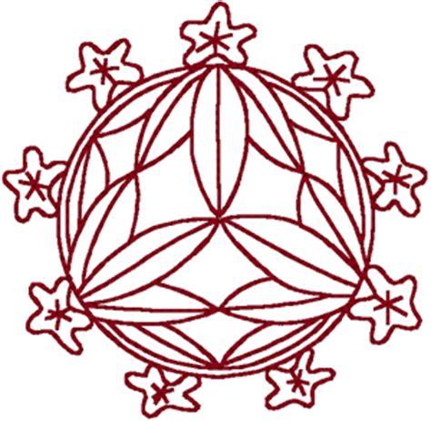 redwork oriental flora 1 embroidery design redwork round asian floral 1 embroidery design