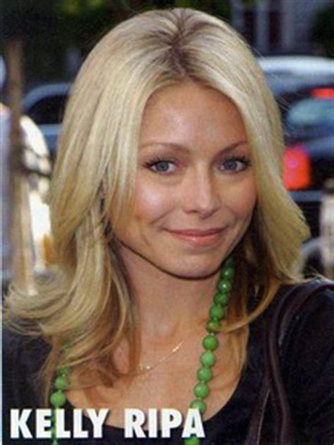 does kelly ripa have fine or thick hair kelly ripa nyc extensions color cut celebrity hair style