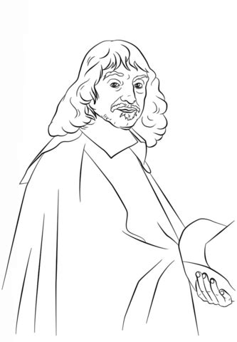 philosophy coloring book review ren 233 descartes coloring page free printable coloring pages