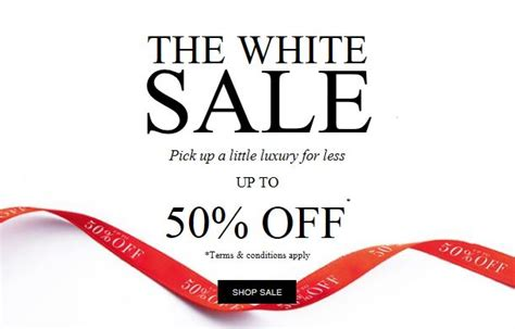 The White Company   Up To 50% off Sale   Absolute Home