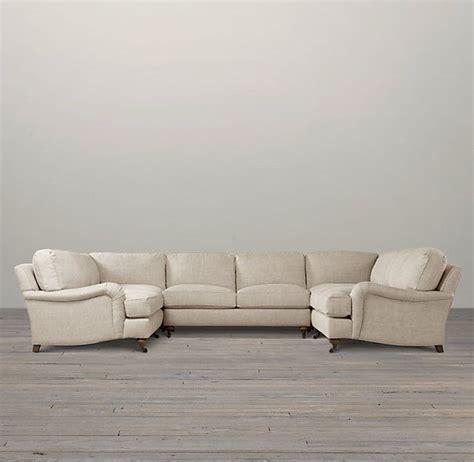 u shaped sectional sofa restoration hardware restoration hardware u shaped sofa home decor