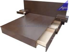 Bedhead Bookcase Base Cajonera Para Cama De 1 60m Con Respaldo Y Mesas De