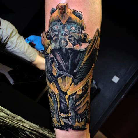 transformers tattoos 20 of the greatest designs