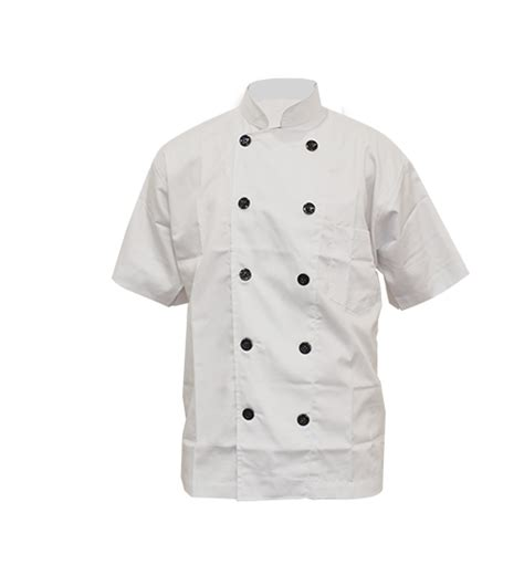 Collar Pelindung Anjing Ukuran Xl white chef with sleeve xl restomart