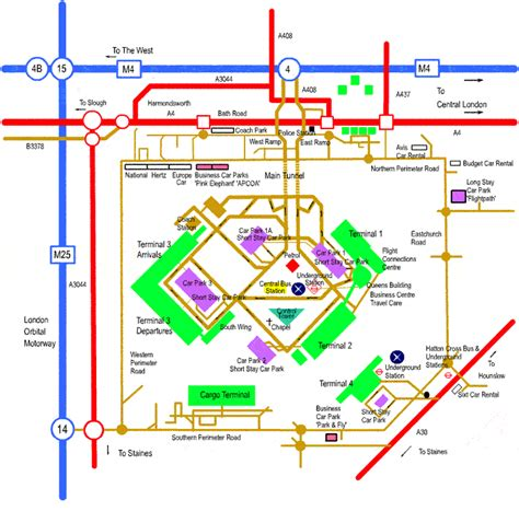 layout heathrow airport image gallery lhr map