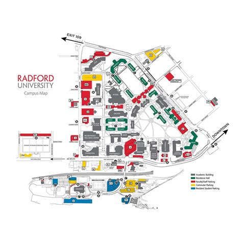 Radford Bookstore Application Cus Maps Directions Radford