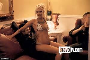 strippers at home real tamra barney walks in on fiance eddie