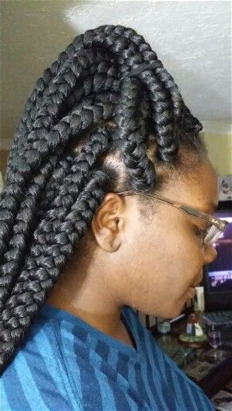 large poetic justice braids poetic justice braids hair by queen big box braids