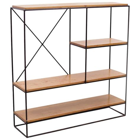 paul mccobb planner iron shelf unit for sale at 1stdibs
