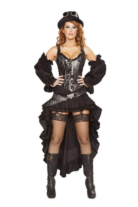 Costume Rompi Silver 1 s black and silver steunk maiden costume ebay