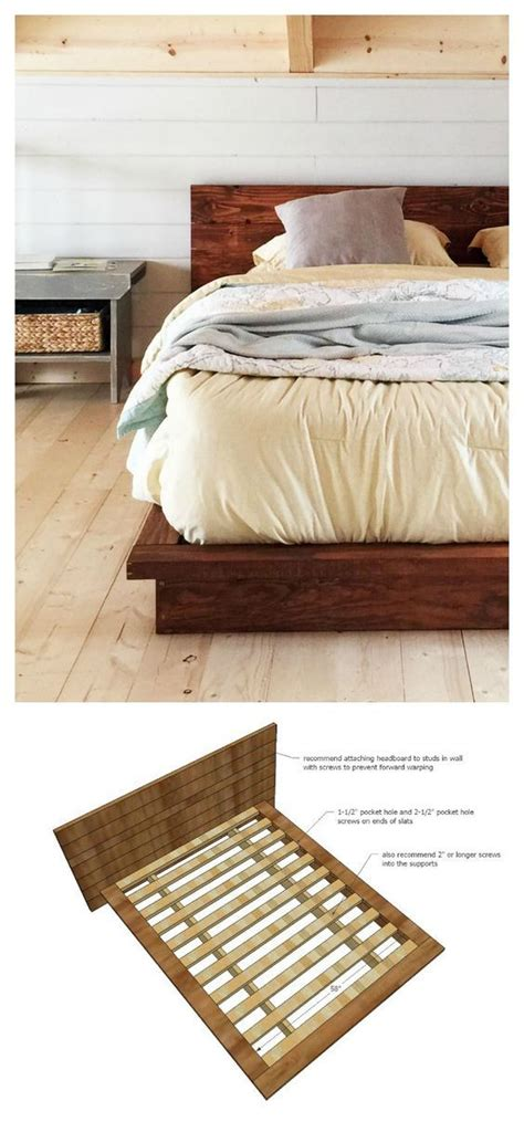 easy diy furniture best 25 low bed frame ideas that you will like on