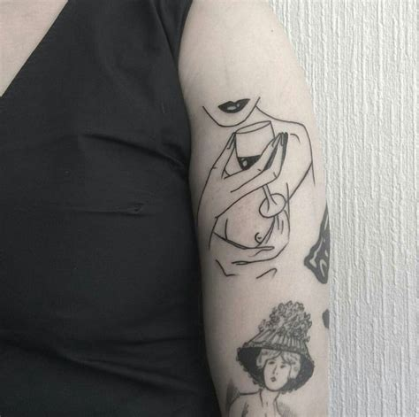 minimalist tattoo trade 34 best wine tattoos images on pinterest wine tattoo