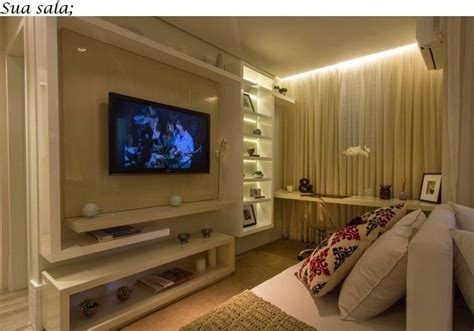 home office with tv sala de tv home office decora 231 227 o salas pinterest