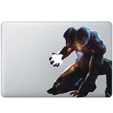 Macbook Aufkleber Ironman by Iron 2 Colour Macbook Decal Kongdecals Macbook Decals