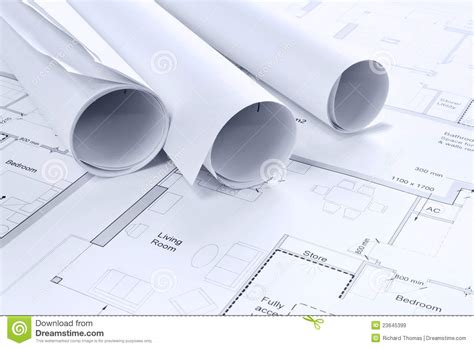 House Floor Plans And Prices architectural drawings background royalty free stock