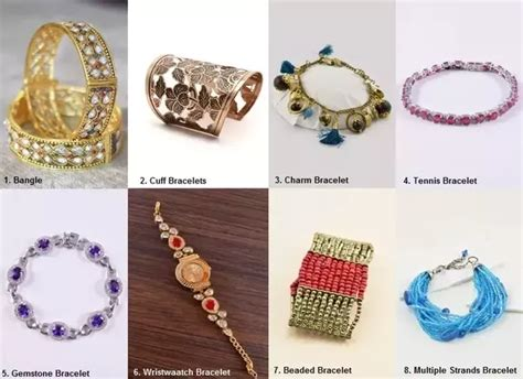types of jewelry bracelet types just another site