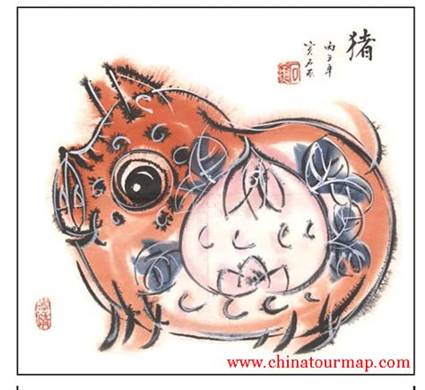 chinese horoscope pig chinese astrology pig picture