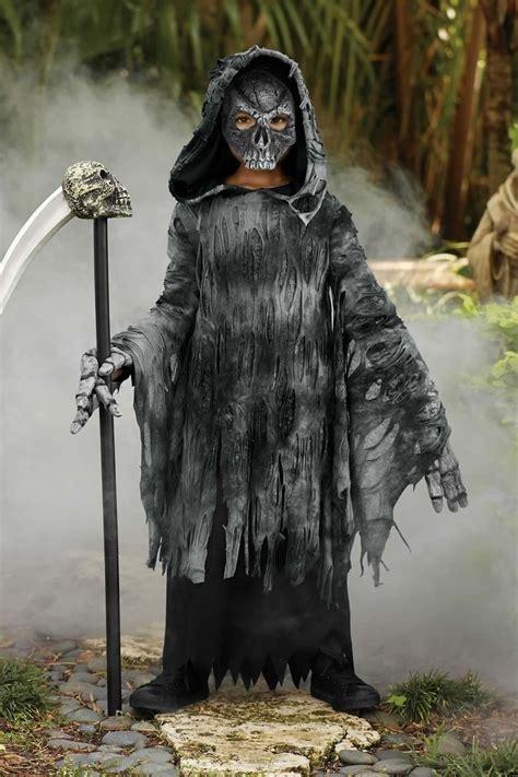 grim reaper costume  boys chasing fireflies reaper