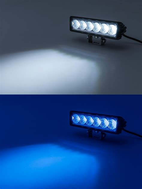 off road driving lights 8 quot off road led light bar 18w 1 350 lumens led light