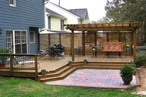 How To Build A Raised Paver Patio Arbor Builders