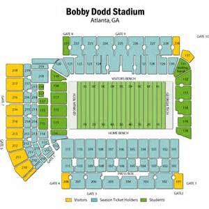 tech stadium map tech yellow jackets football vs western carolina