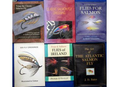 the salmon classic reprint books mullock s auctions six classic salmon fly tying books