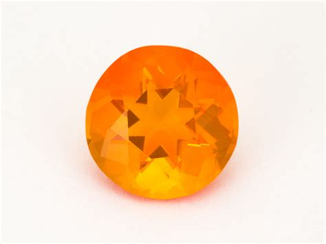 Mexican Agate 4 2ct 4 2ct light orange mexican opal mo161 gems