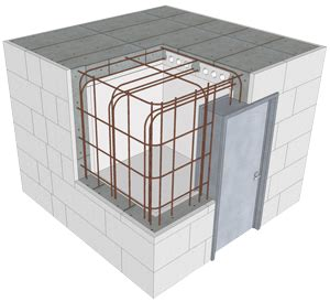 safe room construction buildblock saferoom plans construction