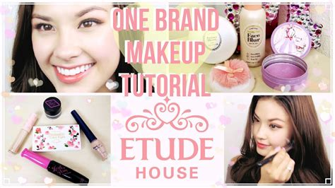 Lipstik Etude Di Korea etude house one brand korean makeup tutorial plus mini reviews
