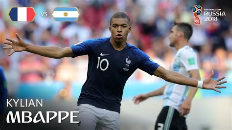 kylian mbappe youtube kylian mbappe goal france v argentina match 50 youtube