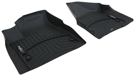 2017 chrysler pacifica weathertech front auto floor mats black