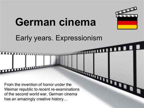 templates powerpoint cinema german cinema