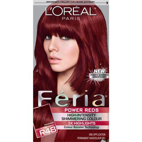 fiera hair color feria permanent haircolour gel chocolate cherry