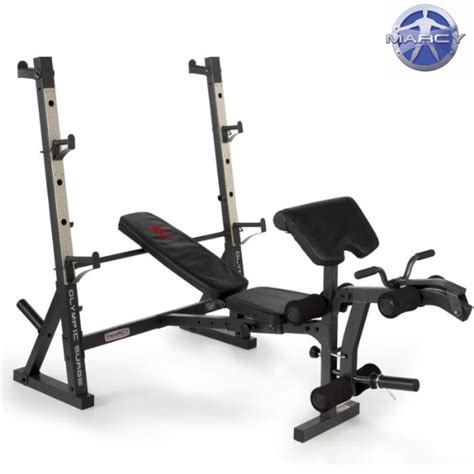 marcy diamond bench marcy diamond elite olympic bench with squat rack