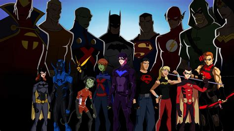 justicia joven imagenes hd young justice full hd wallpaper and background image