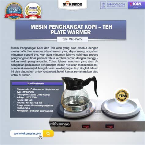 jual mesin penghangat kopi teh di semarang toko mesin