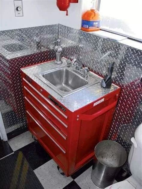garage bathroom man cave bathroom