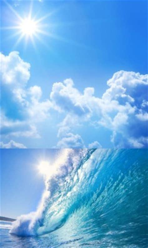 gambar hd pemandangan tepi laut langit gratis foto