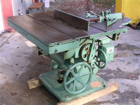vintage woodworking machinery for sale photo index oliver machinery co model 80