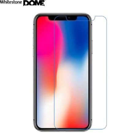 whitestone dome glass iphone xs max cover screen protector