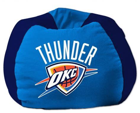 100 okc thunder home decor 48 hours in oklahoma oklahoma city thunder nba 102 quot cotton duck bean bag